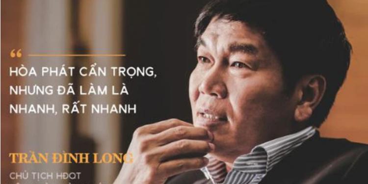 Con trai ông Trần Đình Long đăng ký mua 5 triệu cổ phiếu HPG, quyền phủ quyết của Tập đoàn...
